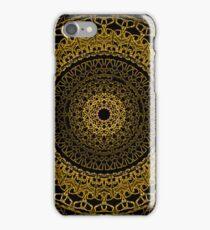 Black and Gold Mandala iPhone Case/Skin