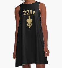 221B Baker Street A-Line Dress