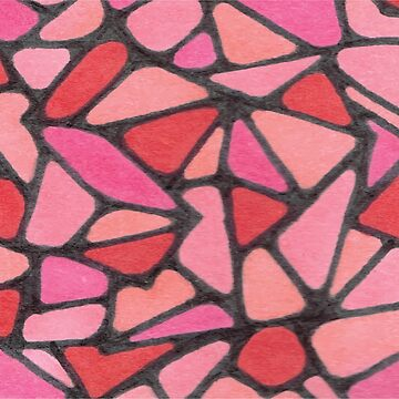 Pink Cobblestones by Minettetcetera