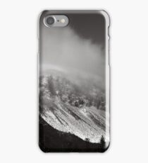 Cannon Cliffs in the Clouds iPhone Case/Skin