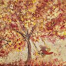 """ Autumn Swing "" by Agnieszka A. Jargiello"