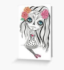 Muerto Greeting Card