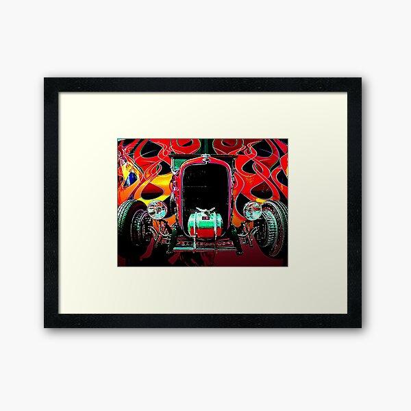 Hot Deuce Framed Art Print