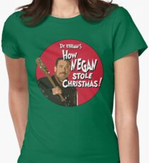 How Negan Stole Christmas! Women's Fitted T-Shirt