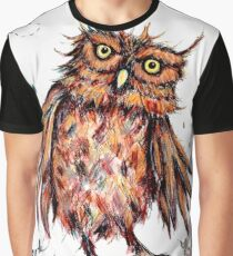 Who Gives a Hoot? Graphic T-Shirt