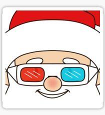 Santa likes 3D Sticker