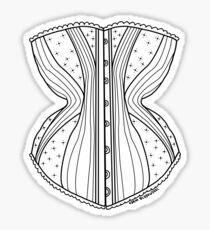 Corset Sticker