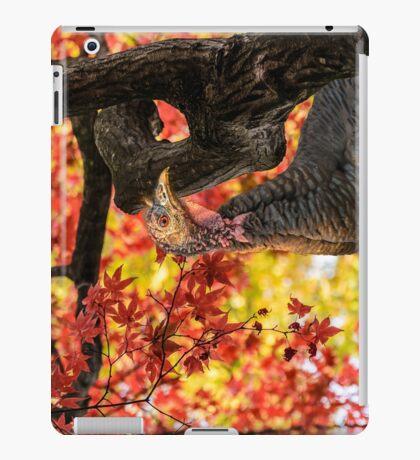 HAPPY THANKSGIVING FROM WILD TURKEY iPad Case/Skin
