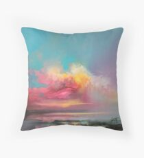 Cumulus Consonance Study 2 Throw Pillow