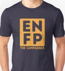 ENFP - Yellow Print Unisex T-Shirt