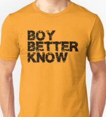 Boy Better Know black Unisex T-Shirt