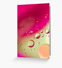 Pink Bubble Mix- Also iPhone Case Greeting Card