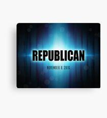 Republican Canvas Print