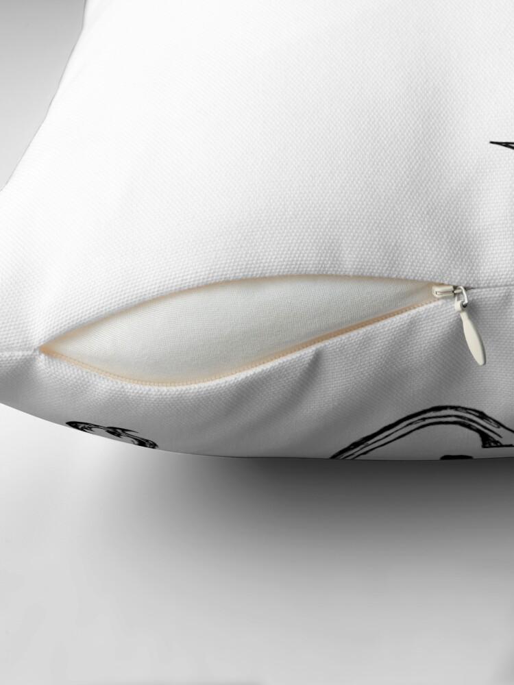 Alternate view of Spark IV Throw Pillow