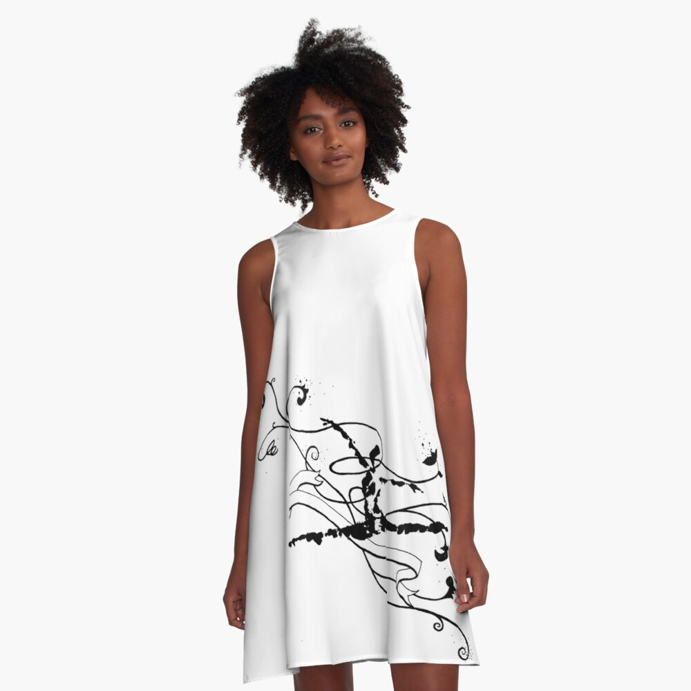 Leaping II A-Line Dress