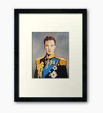 sir cumberbatch Framed Print