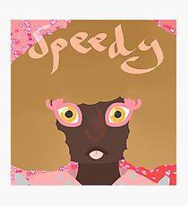 Speedy Photographic Print