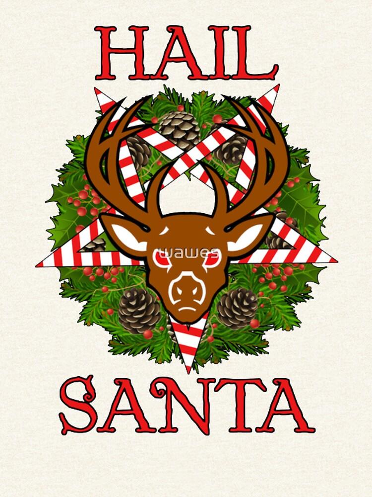 Mad Reindeer by wawes