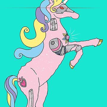 Princess DreamSplicer - el unicornio cyborg de Elvedee