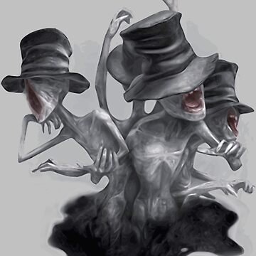 HQ Bloodborne Messsengers (vector) by tellek