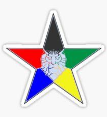 Voltron Force Star Sticker