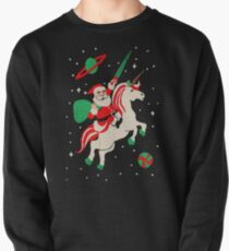 Santa and Unicorn Pullover