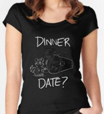 Dinner Date Women's Fitted Scoop T-Shirt