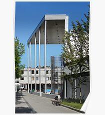 modern urban architecture Poster