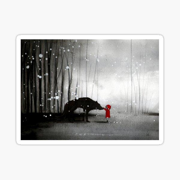 Little Red Riding Hood ~ The Fisrt Touch  Sticker