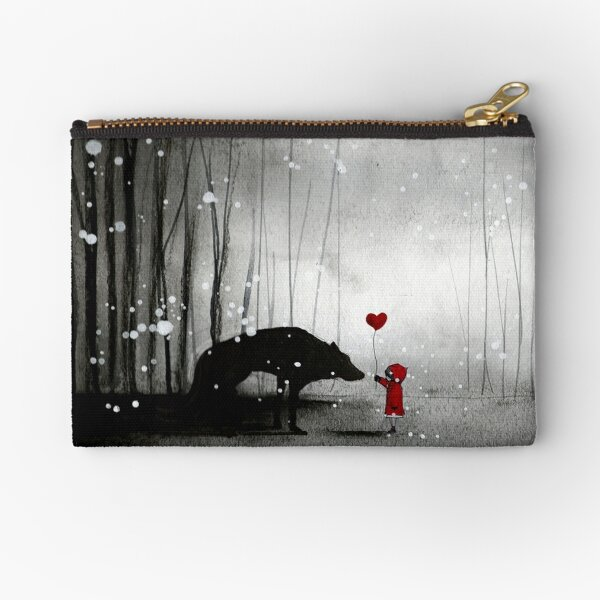 Little Red Riding Hood ~ I love You  Zipper Pouch