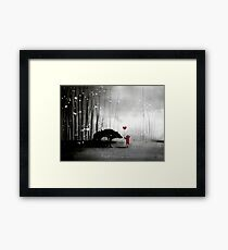 Little Red Riding Hood ~ I love You  Framed Print