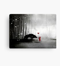 Little Red Riding Hood ~ I love You  Metal Print