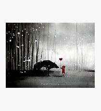 Little Red Riding Hood ~ I love You  Photographic Print