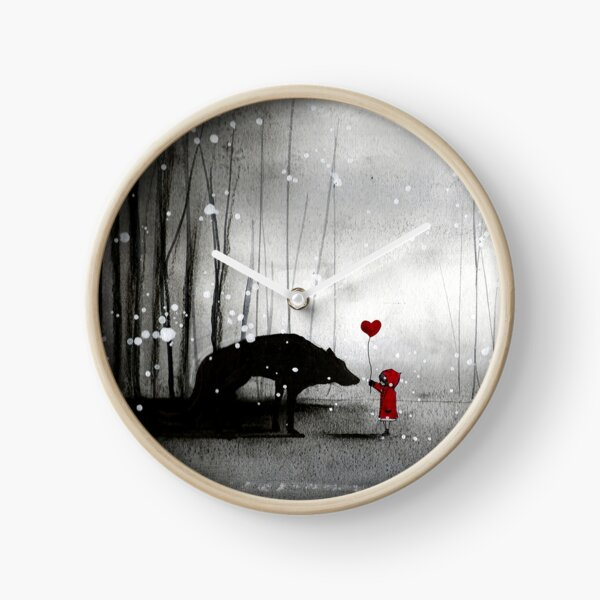 Little Red Riding Hood ~ I love You  Clock