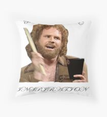 BE INSPIRED Throw Pillow