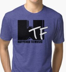 WTF Happened To Music Solid Tri-blend T-Shirt