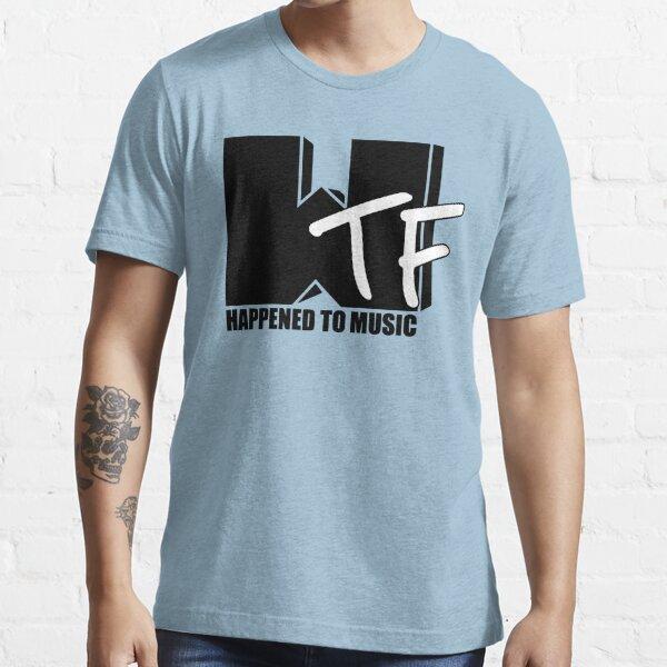 WTF pasó a la música sólida Camiseta esencial