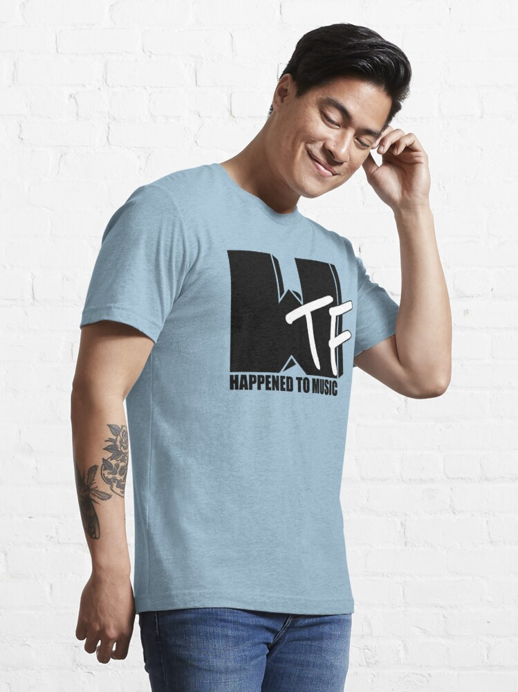 Alternate view of WTF Happened To Music Solid Essential T-Shirt