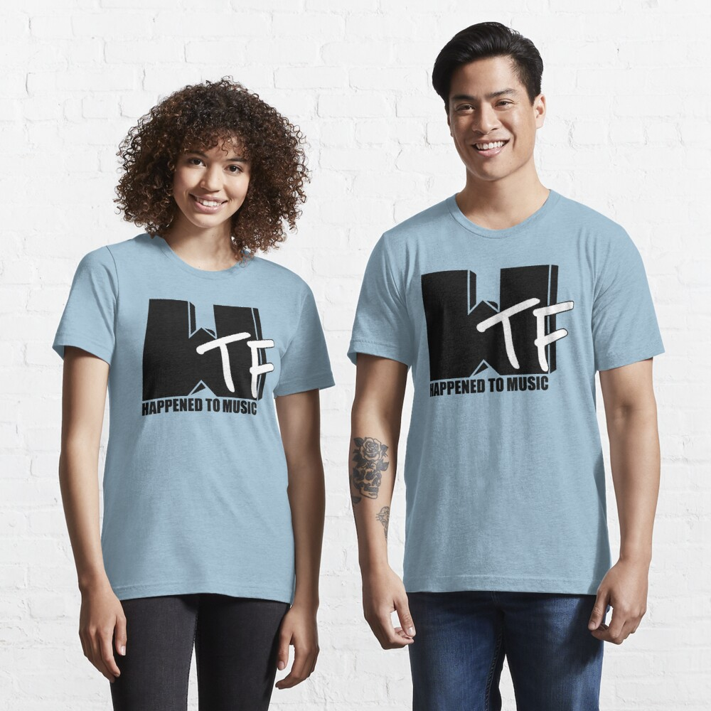 WTF Happened To Music Solid Essential T-Shirt
