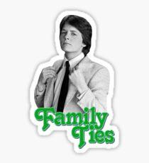Michael J Fox - Family Ties Sticker