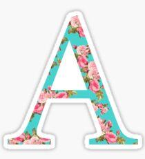 Alpha Rose Greek Letter Sticker