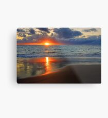 Sunset At Point Peron  Metal Print