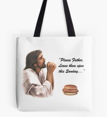 Jesus Chick-fil-a Tote Bag