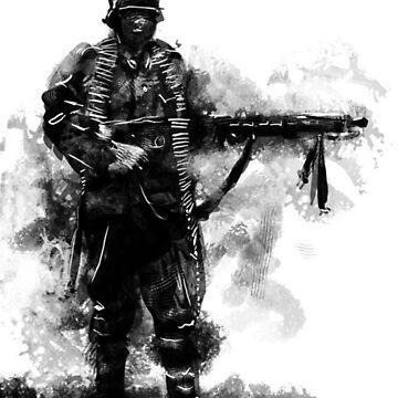Deutscher Soldat by Cyberpanzer