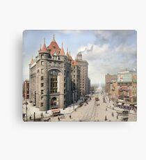 Niagara Street, Buffalo, 1908 Metal Print