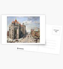 Niagara Street, Buffalo, 1908 Postcards