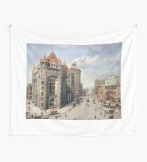 Niagara Street, Buffalo, 1908 Wall Tapestry