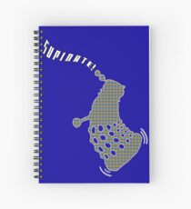 Dr Who - Dancing Dalek (Supinate!) Spiral Notebook