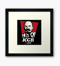 Colonel KGB Framed Print
