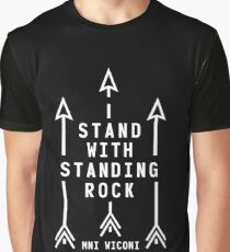 official i stand with standing rock Graphic T-Shirt